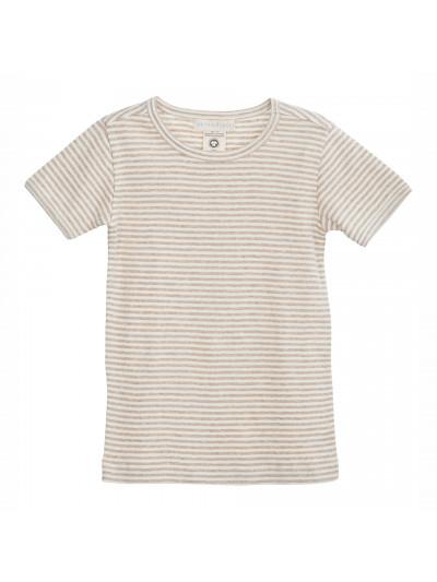 Stripe Tee Short