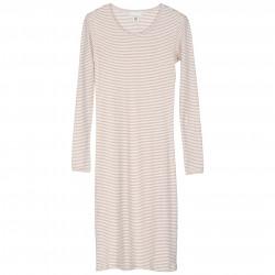 Slim Dress Stripe
