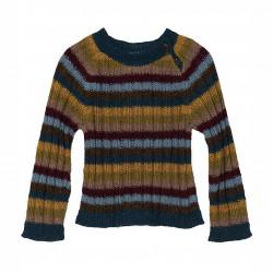 Baby Alpaca Rainbow Sweater