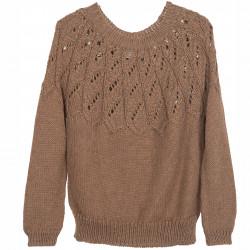 Llama Twist Sweater